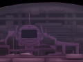 Spaceship closeup