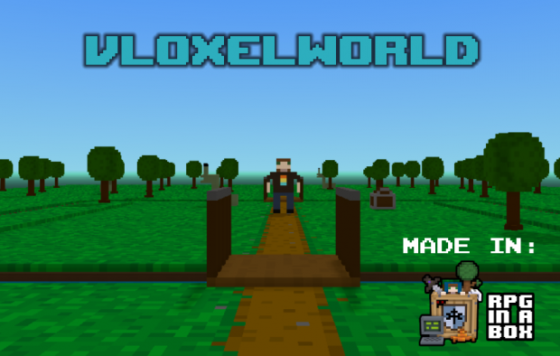 Vloxelworld v4 title portait