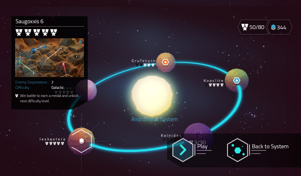 New Planetselection with Planet Info