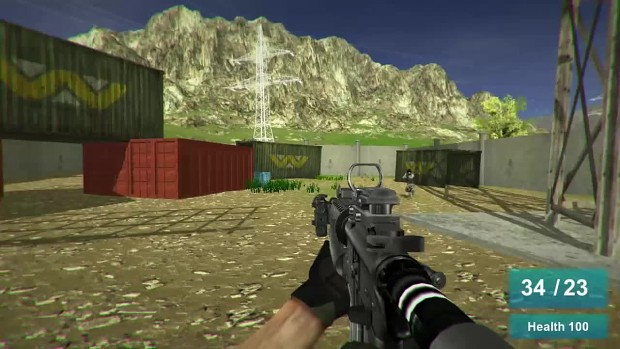 [Unity 3D] No Scope - FPS Multiplayer Game Update