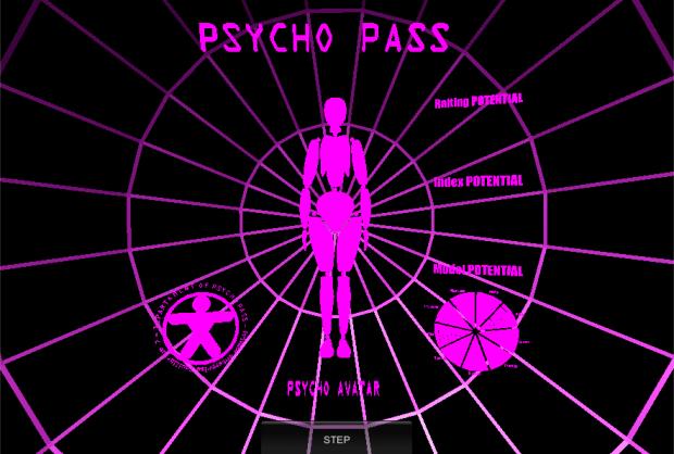 Interface Psycho Pass