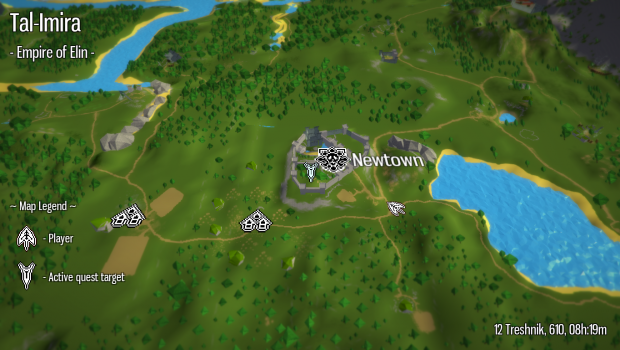Overworld Map View