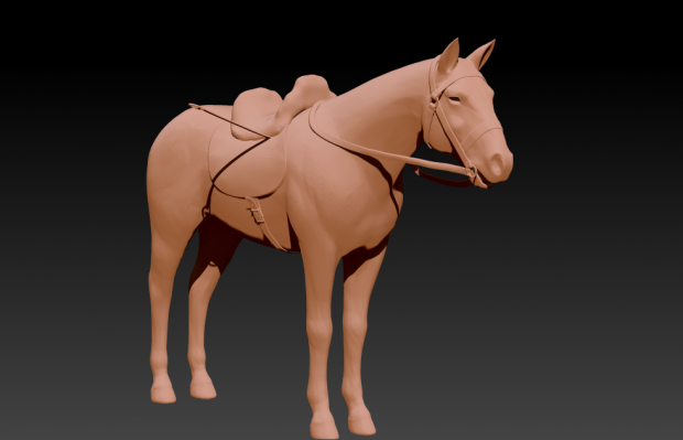 WIP Horse reworked