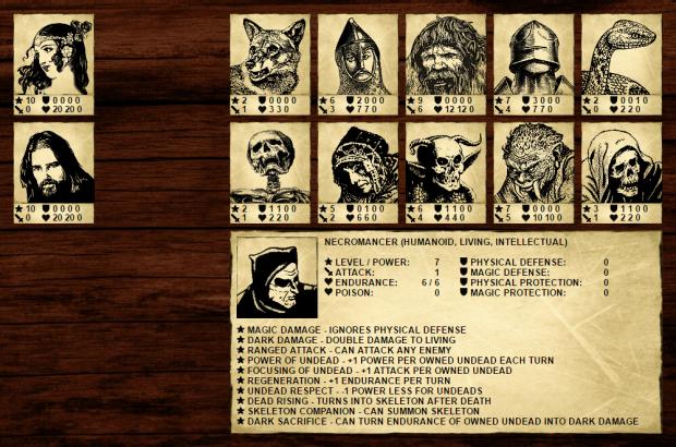 Fantasy Dimension - Necromancer card