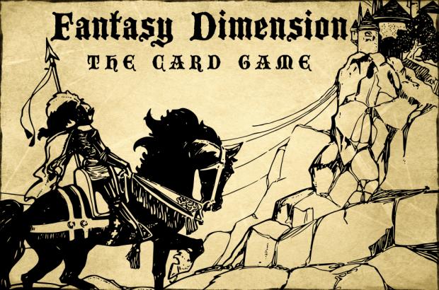 Fantasy Dimension - Title screen