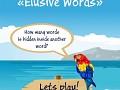 Elusive words