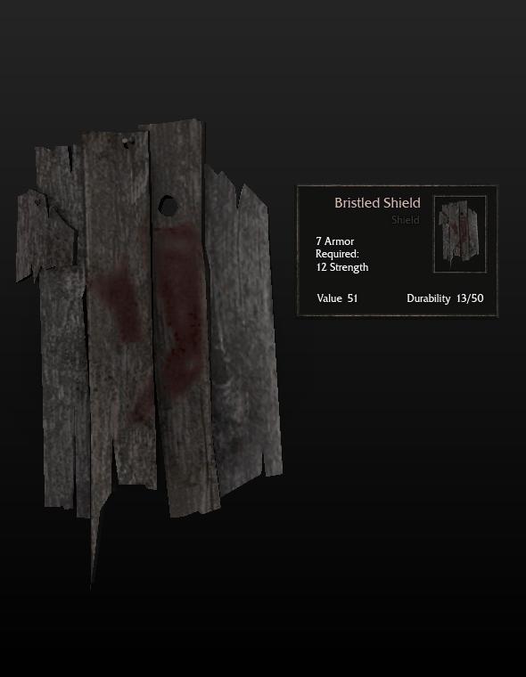 Bristled Shield