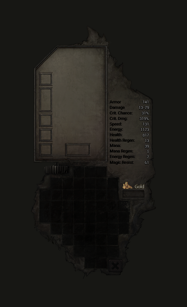Polished Inventory Window
