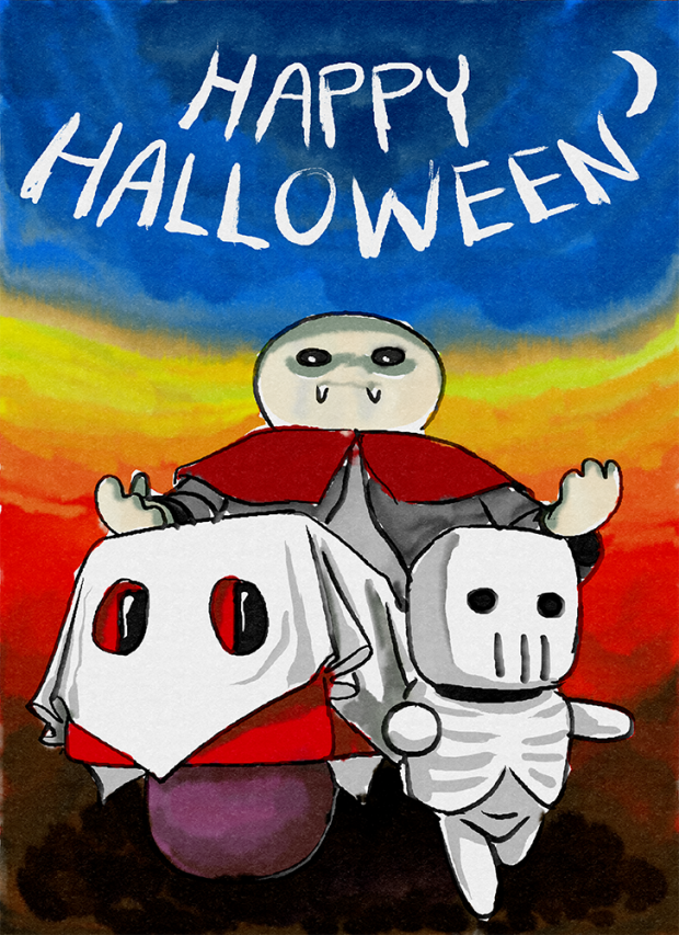 Happy Halloween, Mushroom Crushers!