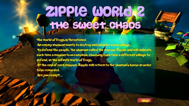 Zipple World 2: The sweet chaos - mega update pack!