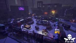 Market by night