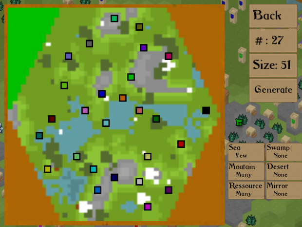 The map generator