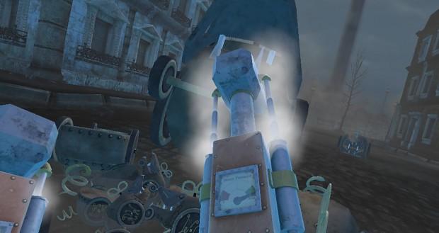 SteamHammerVR Early Gameplay Footage