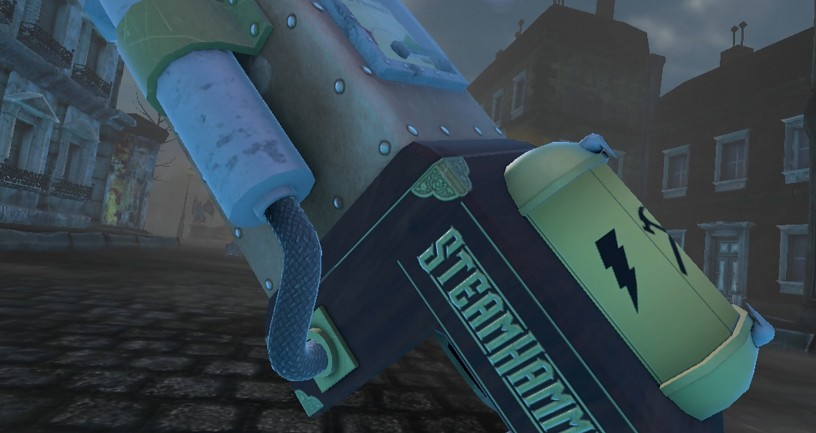 SteamHammerVR Early Gameplay Footage