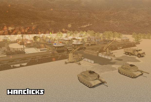War Clicks: Build up the strongest Military Base