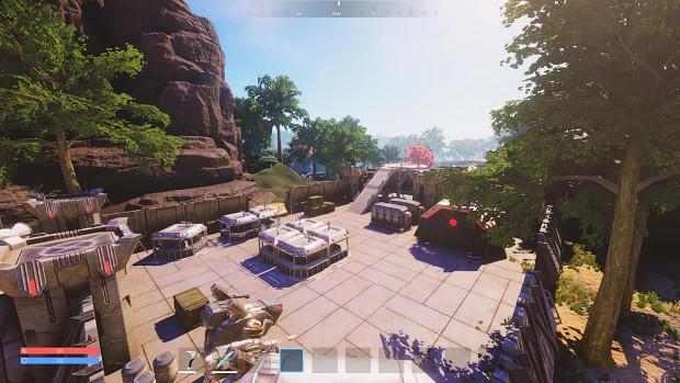 Pantropy faction base