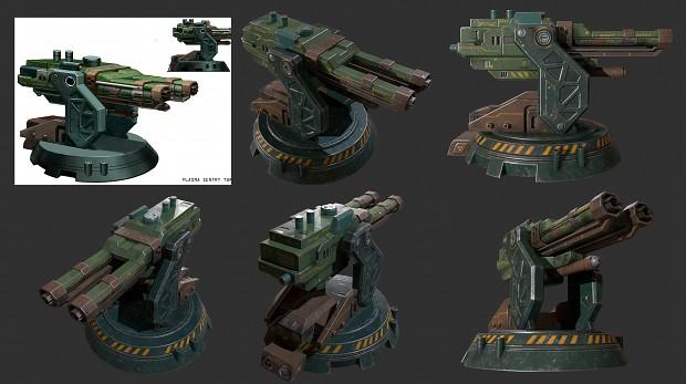 plasma sentry turret