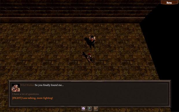 Dialogue UI
