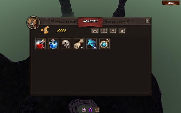 Inventory Panel