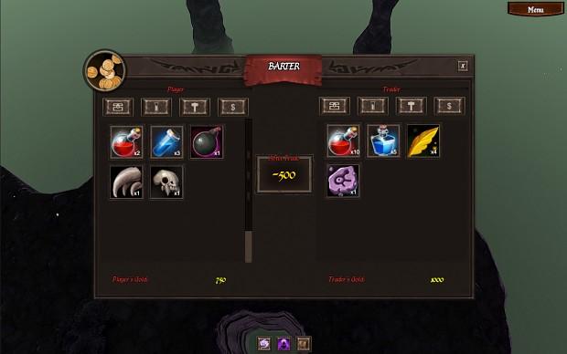 New UI elements