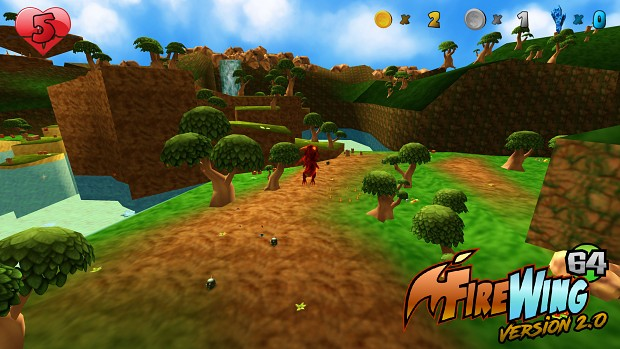 Firewing 64 v2 Screenshots