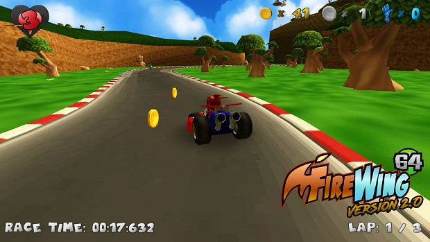 Firewing 64 v2 Screenshots