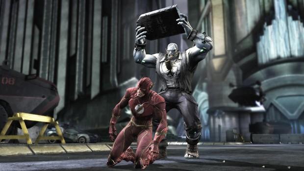 The Flash vs Solomon Grundy