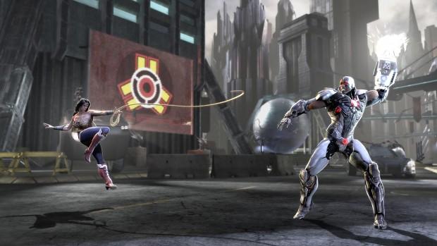 Wonder Woman vs Cyborg