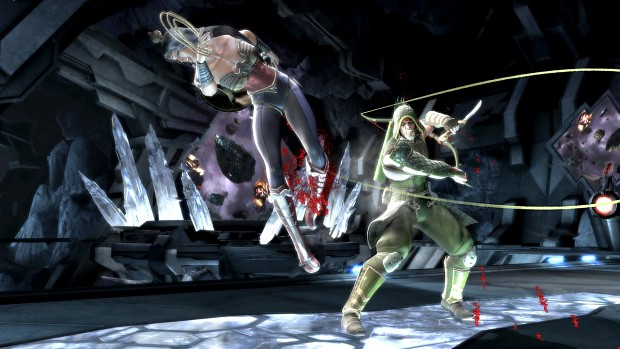 Wonder Woman vs Green Arrow