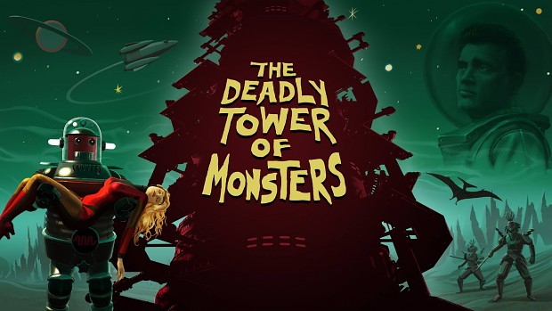 The Deadly Tower of Monsters poster