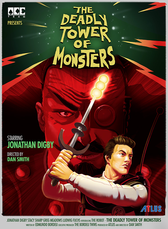 [The Deadly Tower of Monsters] D. Starspeed Movie Poster