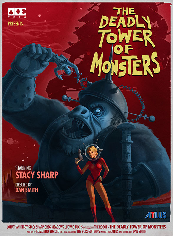 [The Deadly Tower of Monsters] Gorilla Movie Poster
