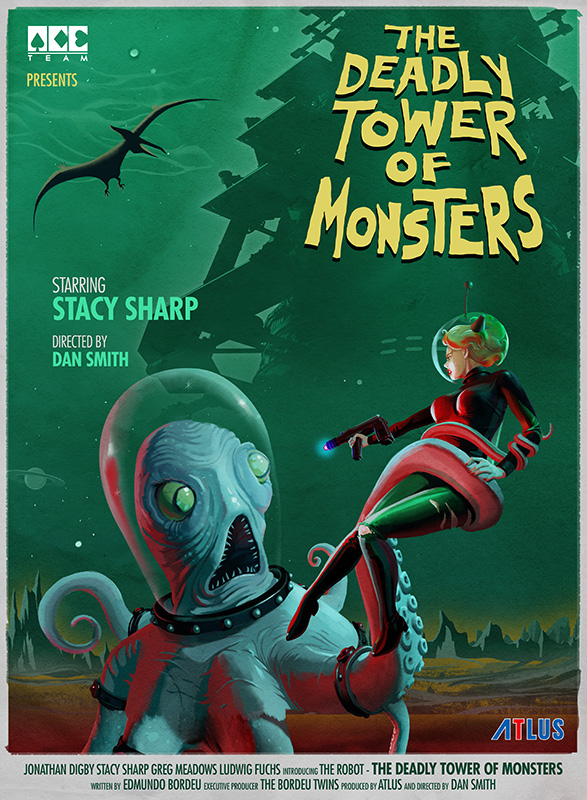 [The Deadly Tower of Monsters] Octopus Movie Poster