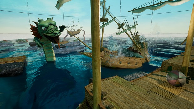Do you have what it takes to cross the Dragon's sea in Rock of Ages 2?