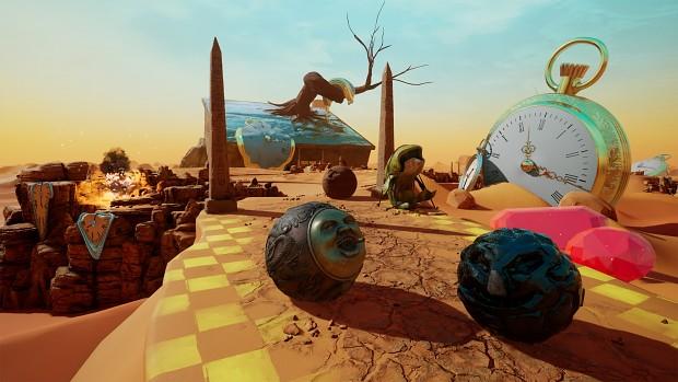 I love it when surreal art in Rock of Ages 2 comes together.