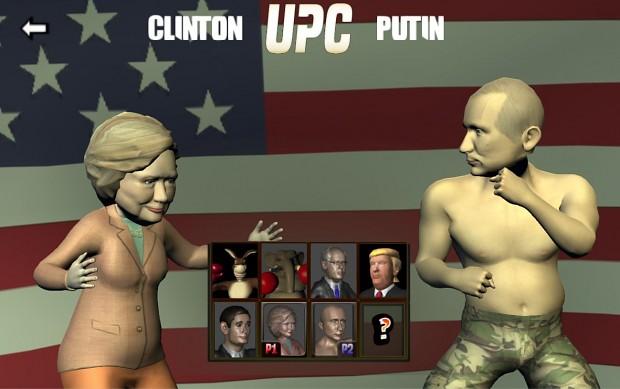 Clinton vs. Putin