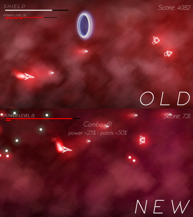 New Background Comparison