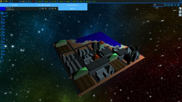 Screenshots of the Beta 1.1.0