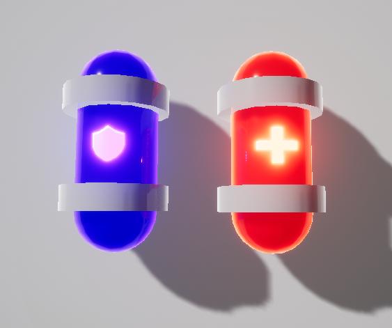 Maze Qore - Upgrade Capsules