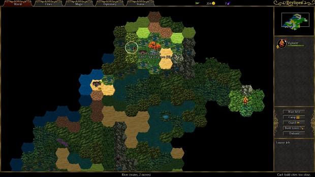 Leylines - Map Screen