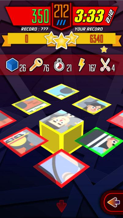 Puzzle rotation block