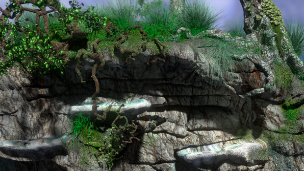 Background made with Cycles Render