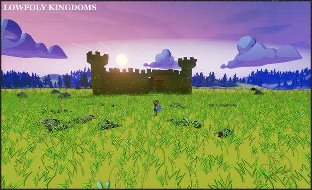 LowPoly Kingdoms Battle