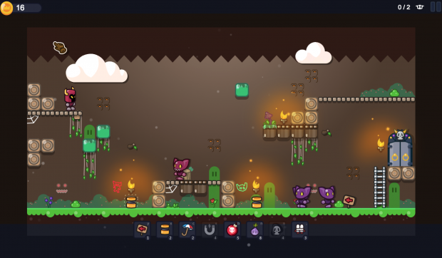 Cave of groan wood - early stage level