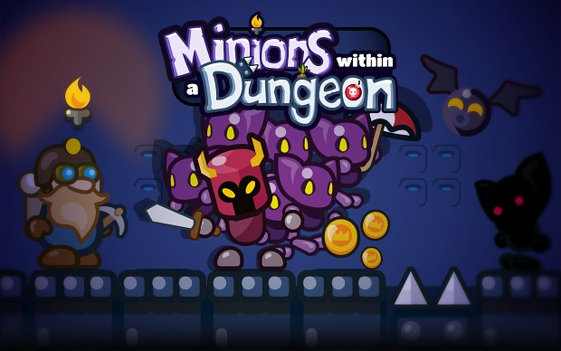 Minions within a Dungeon - Splashscreen