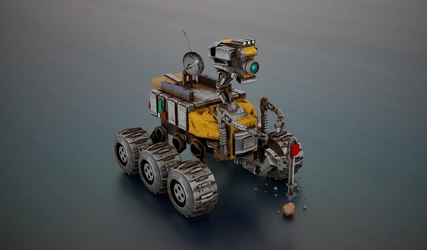 GoE Rover Texture Test