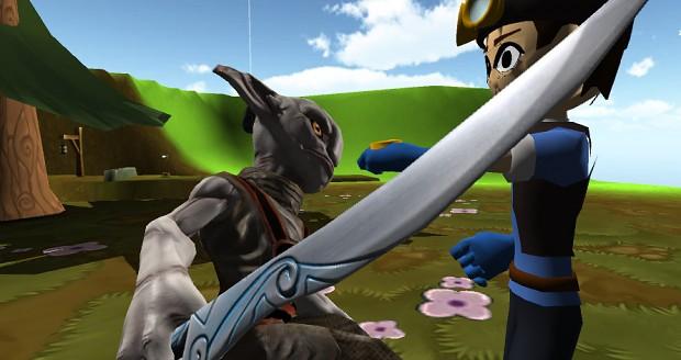 Battle the evil Dark Hearted Zero creatures