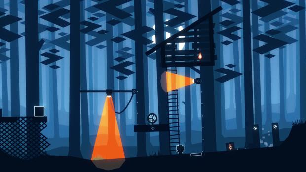 Night Lights - Forest level
