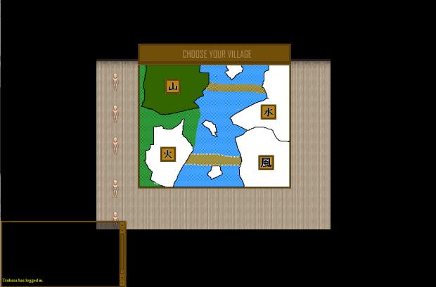 Login Sreen and Character Creation UI