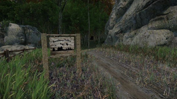 Roseberg Sign, the forest cabin and the code